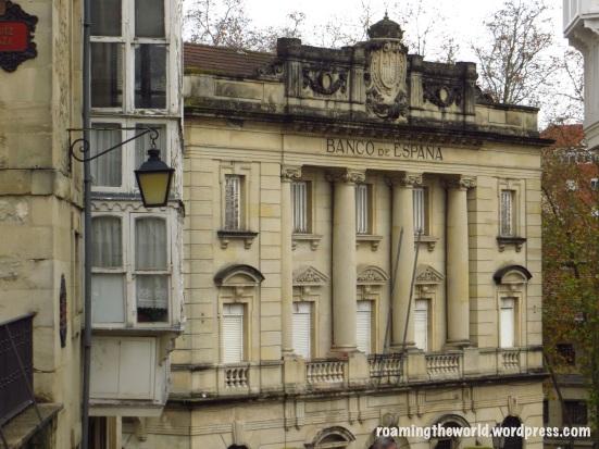 Banco de España but now is an unused building