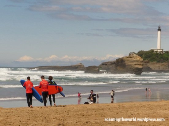 Surf's up in Biarritz