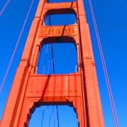 Crossing the beatiful Golden Gate